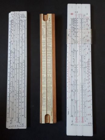 Stary suwak logarytmiczny 3 szt
