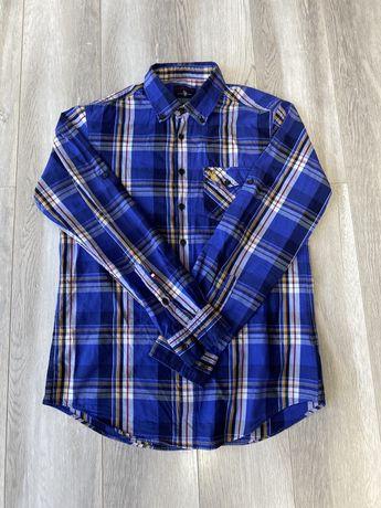 Рубашка котоновая мужская U. S. POLO ASSN оригинал