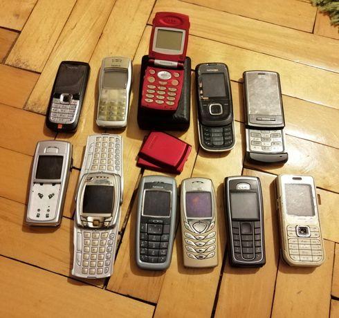 Telefony nokia, Samsung, inny, zestaw, calosc