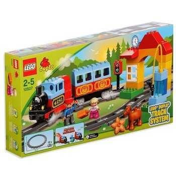 LEGO DUPLO zestaw pociąg, straż pożarna, policja