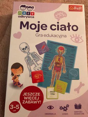Gra edukacyjna moje ciało- gra dla dzieci