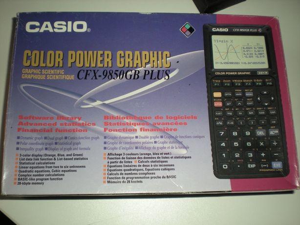 Calculadora Grafica a Cores Casio CFX-9850GB PLUS