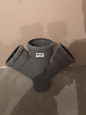 Крестовина для внутренней канализации ostendorf