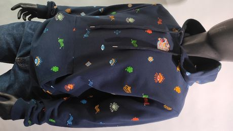 мужской тёплый худи свитер Kenzo р. S 2XL