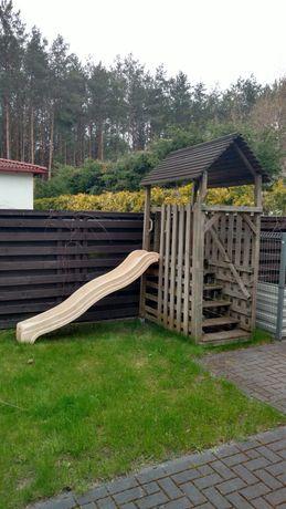 Zjeżdżalnia ślizgawka dla dzieci ogrodowa