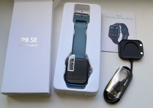 Zegarek smartwatch P8 SE 1,4 cala Bluetooth krokomierz, pulsometr