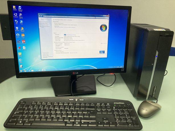 "PC i3 com monitor 22"""