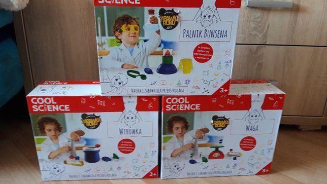Nowe zabawki cool science