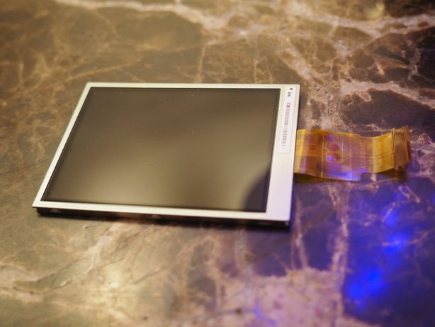 Wyświetlacz LCD do aparatu LCD Nikon S70 S1000 PJ Fuji Z30 Olympus