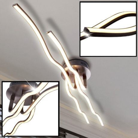Nowość ! Niemiecka Lampa sufitowa WAVE LED Leuchten Direkt fale łuki