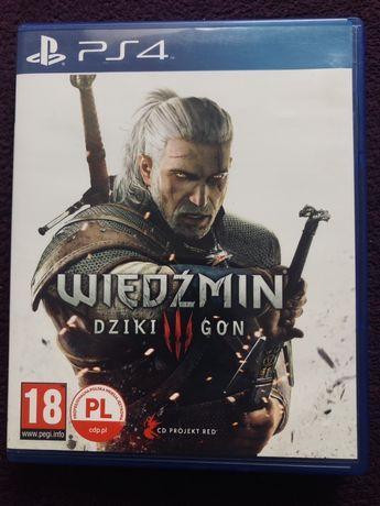 PS4 - Wiedźmin Dziki Gon