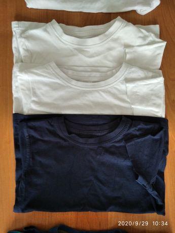 110-116 koszulki podkoszulki na ramiączka krótki długi rękaw