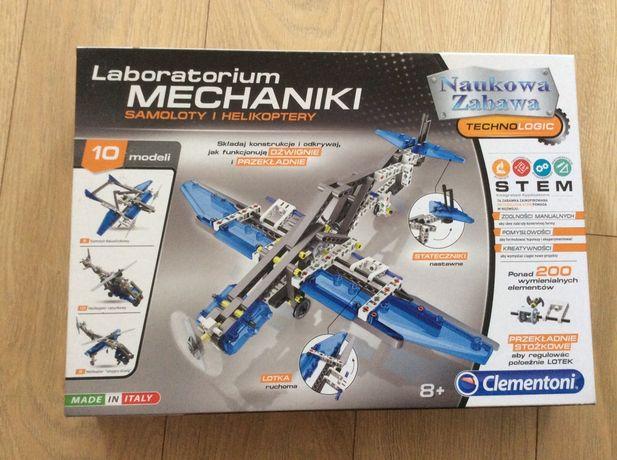 Laboratorium mechaniki samoloty i helikoptery Clementoni