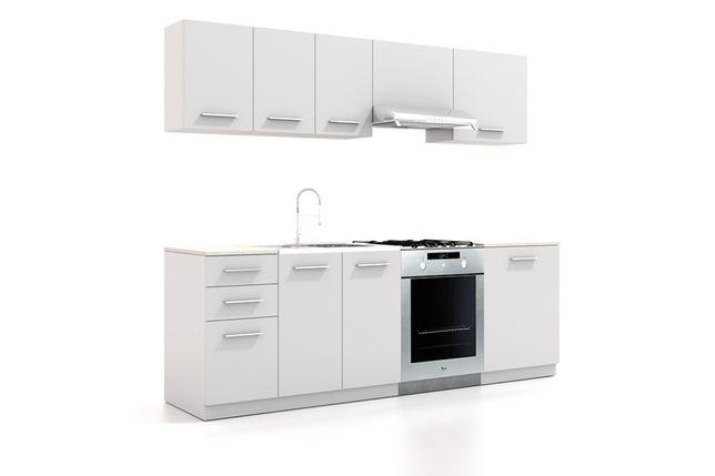 Tania Kuchnia OLIVER w 4 kolorach 7 szafek w zestawie - PROMOCJA