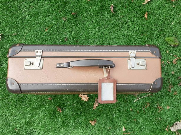 Kufer retro stara walizka stan idealny