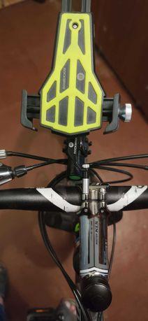 Продается держатель телефона для велосипеда с креплением для фонаря