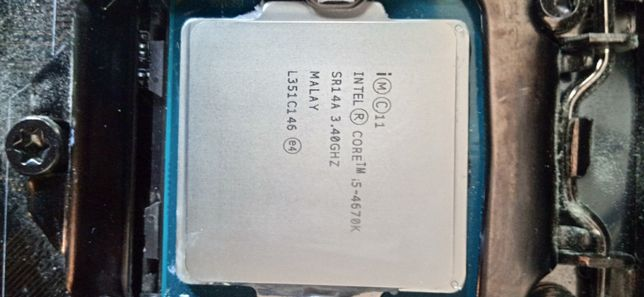 Procesor Intel i5 4670K OC