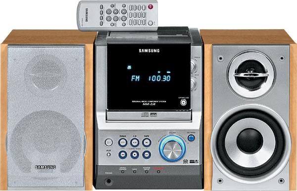 Музыкальный центр Samsung MM-Zl8