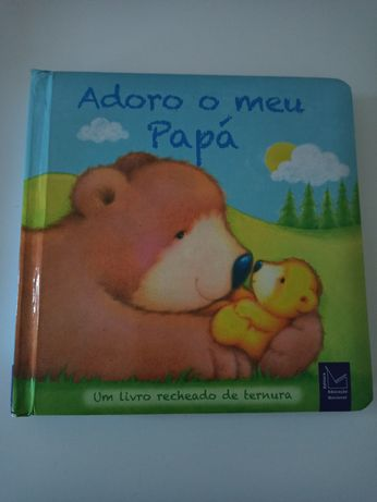 """Livro """"Adoro o meu papá"""""""