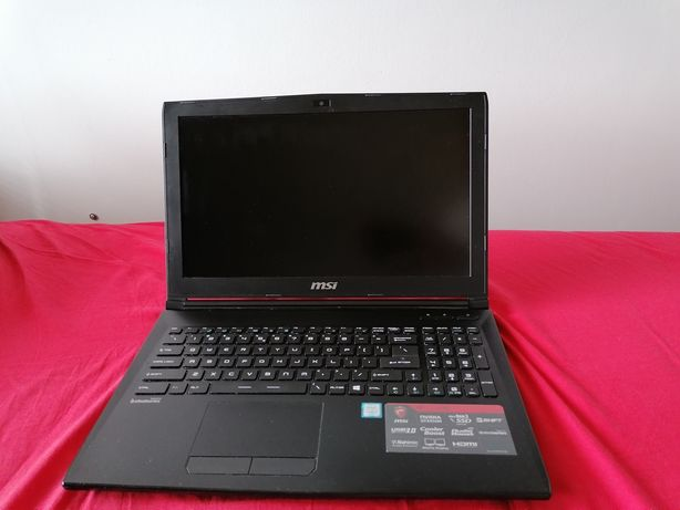 Laptop gamingowy MSI GL62 6QD