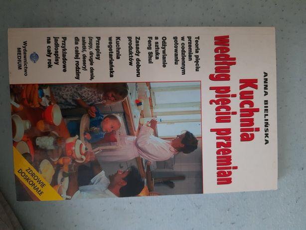 Kuchnia według pięciu przemian medycyna Chińska książka kucharska
