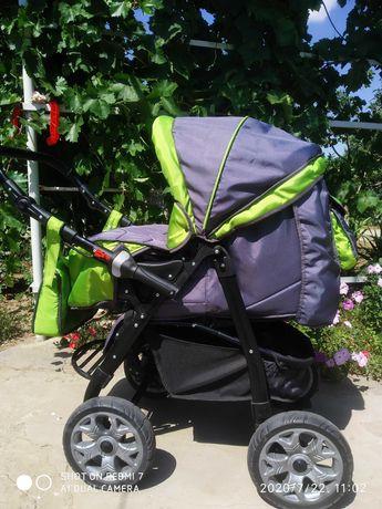 Детская коляска-трансформер(лето/зима)