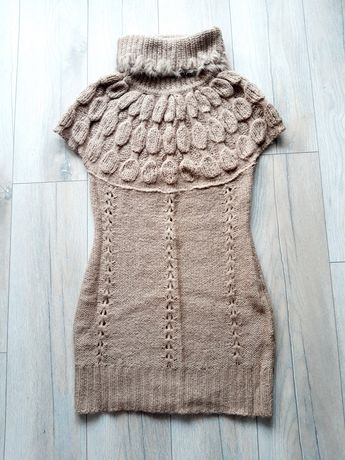 Sukienka L ciepła