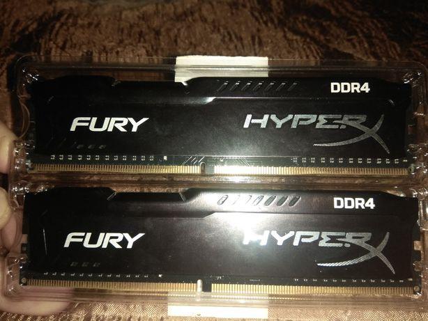 DDR 4 - 2*4Gb FURY Hyper X