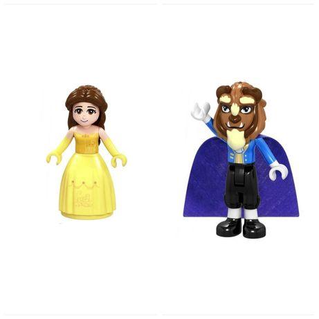 Nowy zestaw figurek Piękna i Bestia w pełni kompatybilne z Lego