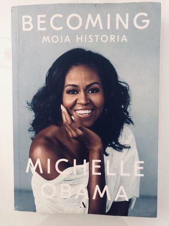 Książka Becoming Michelle Obama