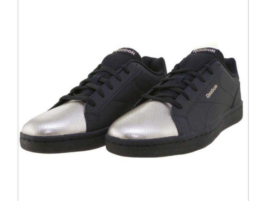 NOWE buty czarno srebrne Reebok Royal Complete CLN 40/26cm/9 Pawłowice - image 1