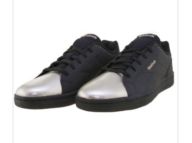 NOWE buty czarno srebrne Reebok Royal Complete CLN 40/26cm/9