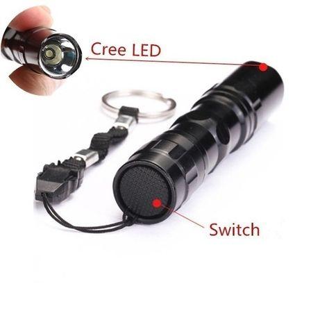 Lanterna Led Mini bolso portátil Super Bright