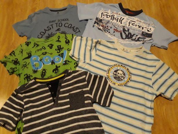 T-shirt koszulka 134 chłopiec