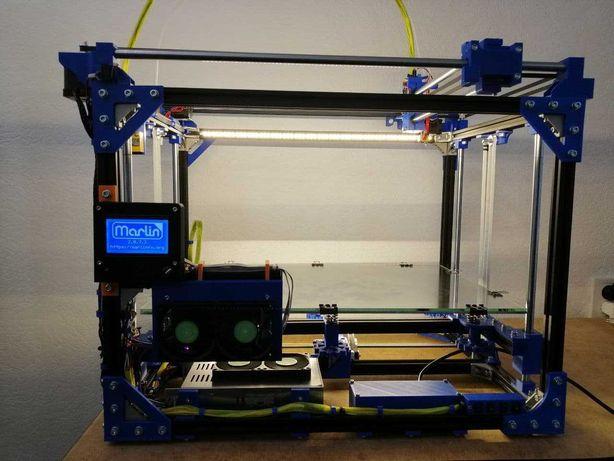 3d printer corexy професійний 350x500x350 marlin 2.0