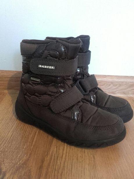 Buty zimowe Kozaczki Trzewiki na rzepy Bartek r. 30 jak nowe