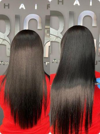 Кератиновое выпрямление волос /Ботокс