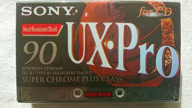 SONY UX-Pro 90 - kaseta magnetofonowa - folia