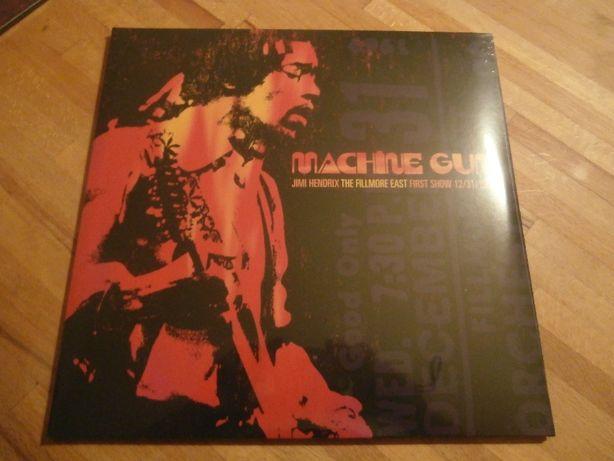 Hendrix Machine Gun The Fillmore East 12/31/1969 first show 2lp