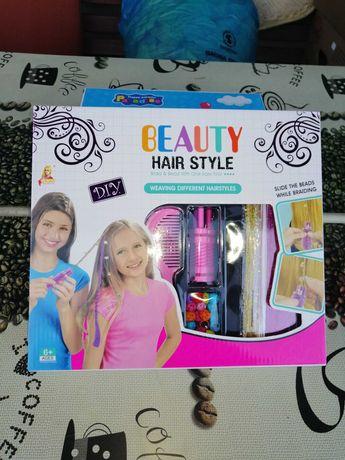 Zestaw piękności do zaplatania włosów