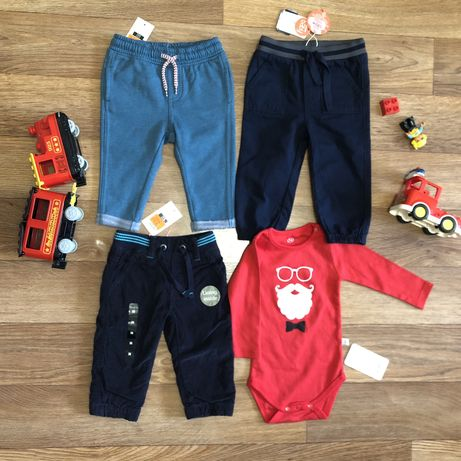 Штаны, брюки, джогеры на малыша, НОВЫЕ, 74, Cool Club, Next, Koton