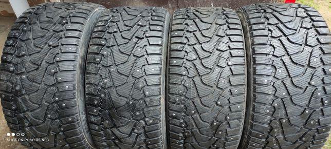 Різноширокі шини/ резинаR20-315/35+275/40 pirelli Ice zero шип RUNFLAT