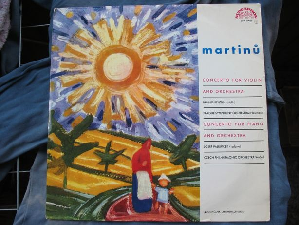 Martinů.‎– Concerto For Violin And Orchestra.Vinyl,1963 г.