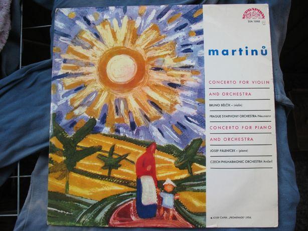 Martinů.– Concerto For Violin And Orchestra.Vinyl,1963 г.