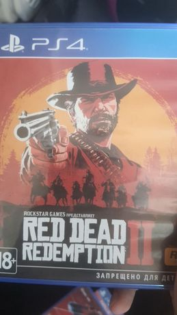 Игры Ps 4 (Red dead redemption 2 , God of war 3 , человек паук)