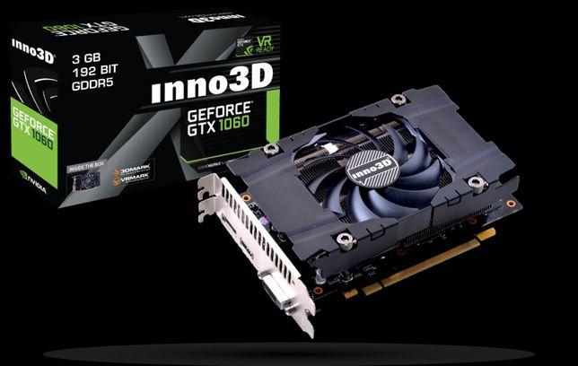 Видеокарта inno3D GeForce gtx 1060 3gb.