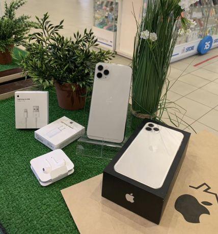 Iphone 11 Pro max 256 silver neverlock Идеал Гарантия 6месяцев Магазин