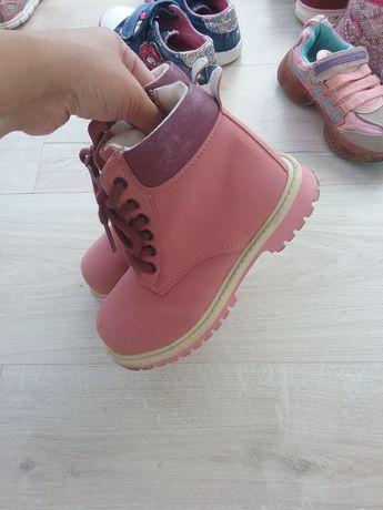 Тимбы из натуральной кожи ( нубук) для девочки   ботинки для девочки