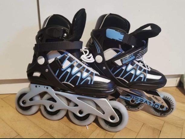 Łyżworolki r39 Led inline skate sport generation!