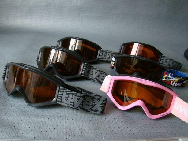 детск лыжная маска очки UVEX Оригинал! размер - M